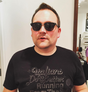 Vehlinggo editor/publisher Aaron Vehling.
