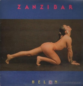 "Helen - ""Zanzibar."" The questionable yet artful cover of the Spanish release of the 12-inch."