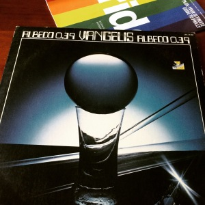 Listening to a classic Vangelis album and planning for Pride weekend. Photo Credit: Vehlinggo.