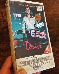 Steelberg's take on the cover for Nicolas Winding Refn's 'Drive.'