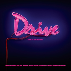 A special edition of Invada's fifth anniversary release for 'Drive.' Design by John Bergin,