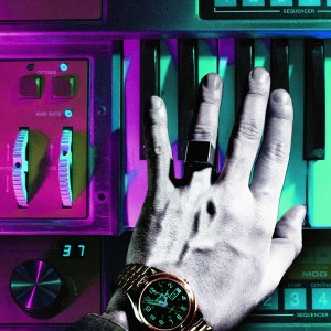Chromatics - 'Tick of the Clock' cover art. Photo Credit: Italians Do It Better.
