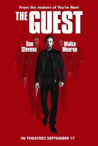 Promo art for 'The Guest.'