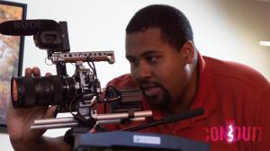 'Conduit' director John Hale on the set of the film. Photo Credit: John Hale.