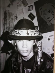 Zack Stentz in the 1980s.