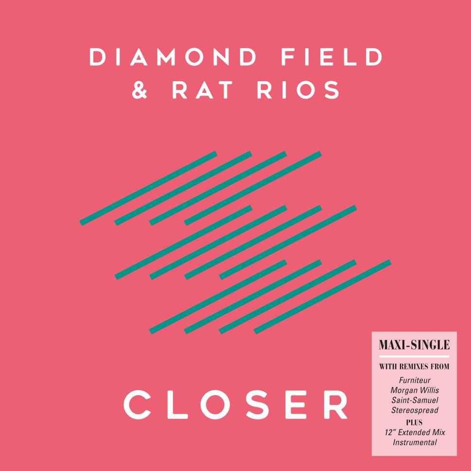 'Closer' album art, courtesy of Diamond Field.
